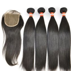 "7A Extensions de cheveux vierges brésiliennes Straight 14 ""Top Quality Hair Weft"