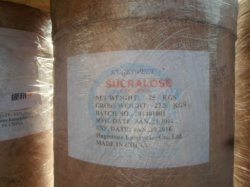 Le sucralose de qualité alimentaire de haute qualité (MFCD03648615) (CAS : 56038-13-2)