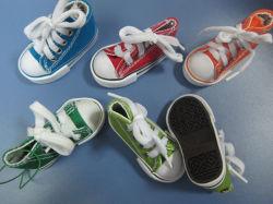 Kundenspezifisches Hot Sell PVC u. Canvas Mini Toy Shoe für Promotion
