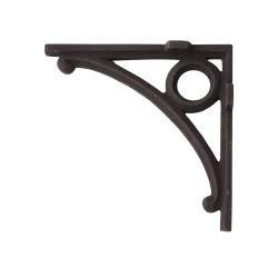 Угловые кронштейны из кованого железа поверхность черного цвета