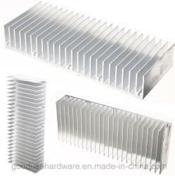 Dissipador de calor de resfriamento do dissipador de calor em alumínio Fin para o amplificador de potência de 150mm x 60mm X 25mm