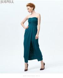 Les femmes Soutien-gorge Mesdames sexy robe d'été long paragraphe robe de soirée robe de couleur unie Banquet costumes slim usine OEM Logo personnalisé