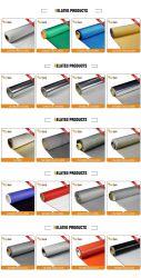 Серебристый серый 0.44мм обе стороны из стекловолокна силиконового герметика для термостойкий короткого замыкания