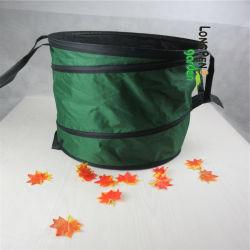 600d Oxford Pop-up de la bolsa de residuos de jardín