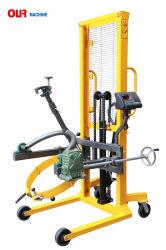 Hydraulischer Fuß Pedel Trommel-Träger mit der Kapazität der wiegenden Schuppen-450kg