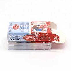 Les animaux de l'impression personnalisée de la conception de cartes de jeu échantillon gratuit de Cartes à Jouer au Poker de gros pour le divertissement
