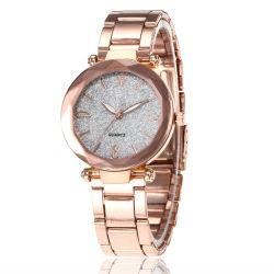 Bling brillant élégante montre-bracelet montre-bracelet chronographe de quartz