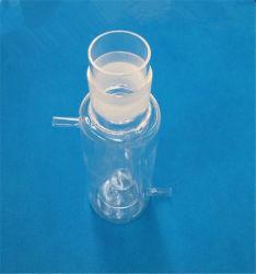 ポーランド語はDouble-Deck明確な無水ケイ酸の水晶試薬びんをカスタマイズする