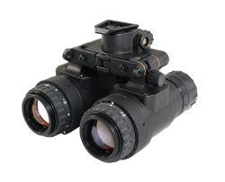 La vision de nuit de la caméra thermique binoculaire // Image thermique infrarouge