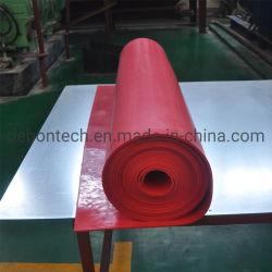 Lámina de goma anti 10mm cinta transportadora de abrasivos para el sistema de sellado de junta de falda