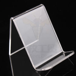 Socle de téléphone cellulaire en acrylique transparent, le casque au titulaire et de l'écouteur d'affichage de bureau