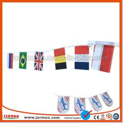 Дешевые ткани полиэстер String национального флага для поощрения и