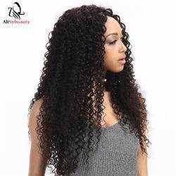 Необработанные Alinybeauty Категория 9A бразильского малайзийской Джерри вьющихся волос Соединенных Штатов добавочный номер