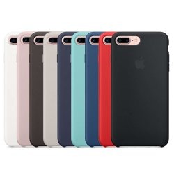 iPhone 8 Plus/7 van de anti-daling plus (5.5Inch) het Vloeibare Geval van het Gel van het Silicone