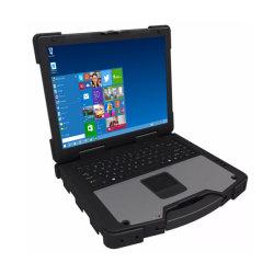 12,1 pouces LCD industriels étanches militaire de l'ordinateur portable robuste