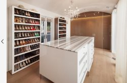 Настраиваемые цельной древесины ходьбы в спальне шкаф платяной шкаф шкаф