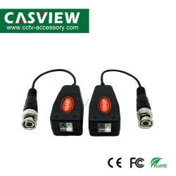 1 Par 1CH UTP passivo trançado Balun de Vídeo HD Cvi Tvi Ahd Acessórios para câmaras CCTV Transceptor Conector de Vídeo Vigilância