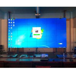 500nit 55inch VGA 입력 LCD 벽면 감시 접촉 스크린 위원회