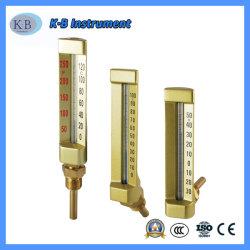 Морских промышленных Impa 6519/6520 Series V-образный горячей воды стекло термометра