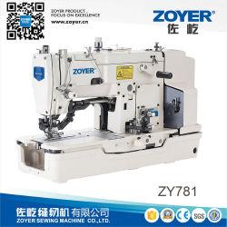 재봉틀을 구멍을 파는 Zy781 Zoyer 고속 재봉틀 박음질 똑바른 단추