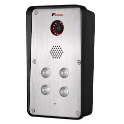 Vídeo IP Kntech Interfonos Sistema con 4 botones de marcación rápida