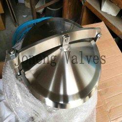 Гигиеничная из нержавеющей стали марки не типа давления раунда Manway крышки люка (Ин-ML2008)