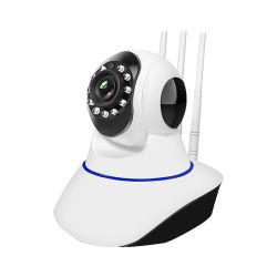 720p Mini de 360 grados de visión nocturna de vigilancia IP de vídeo cámara WiFi
