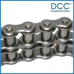 Versión de acero de la cadena transportadora ANSI industriales de la serie pesada cadena de rodillos de lubricación automática