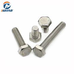 Fabricado en China un2-70 de acero inoxidable una4-80 4.8 8.8 10.9 grado ISO4014 DIN DIN931933 M12 M16 M24 M20 M33 M36 M45 nuevo de cabeza hexagonal Hexagonal Tuerca y tornillo hex.