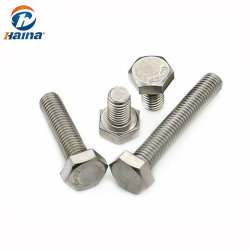Vervaardigd in China roestvrij staal A2-70 A4-80 4.8 8.8 10.9 KLASSE ISO4014 DIN931 DIN933 M12 M16 M24 M20 M33 M36 M45 nieuwe zeskantbout Hexagon-bout, zeskantbout en Moer
