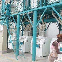 Il laminatoio del frumento del mais digrigna il macchinario di macinazione di farina della macchina della farina di granoturco della pianta