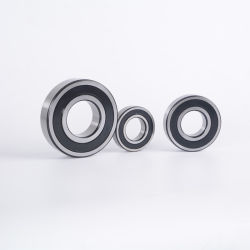 Fornire cuscinetti di precisione montati su cuscinetti a sfere con guarnizione radiale 6204 motore Cuscinetto fusello cuscinetto cuscinetti sfere cuscinetti puleggia bronzine alta Cuscinetti di velocità