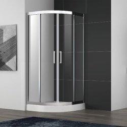Edelstahl-schiebendes Dusche-Gehäuse mit Rahmen-und Doppelt-Griffen