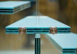明確な、染められた安全建物ガラス構築によって和らげられる強くされた薄板にされたガラス