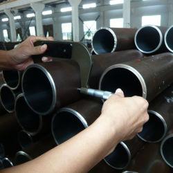 Сшитые низкоуглеродистой стали трубки готовой гидравлический цилиндр отточен трубки