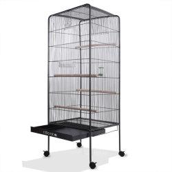Grand oiseau de volière cage en acier de métal