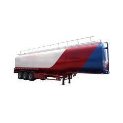 precio de fábrica de acero al carbono 60 cbm Venta caliente aceite de palma crudo Petrolero de transporte de depósito de semi-remolques