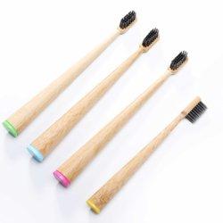 Escova de dentes de bambu natural Eco-Friendly com preço Wholsale