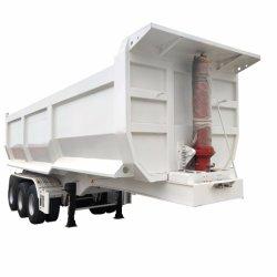 2/3 محور العجلة 50 طن يميل شحن منفعة ثقيلة - واجب رسم شاحنة قلّابة سلم نقل رمل شاحنة مقطورة