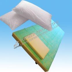 Folhas de cobertura de cama de plástico não tecidas, Folha de cama absorvente descartável