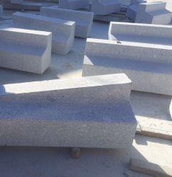Natürliche graue Bushaltestelle-Bordsteine des Granit-G341