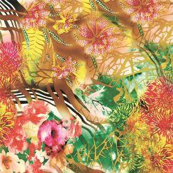 Digitale TextielDruk op de Stoffen van de Zijde (tld-0088)