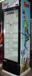 Ventilator die de Enige Koeler van de Drank van de Deur van het Glas, de Showcase van de Drank koelen
