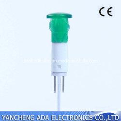 en lampe pilote de la lampe de signal de la vente 10mm DEL 220V