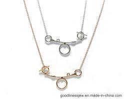 Основе создания 925 Silver ожерелье с образом аксессуары (N6867)