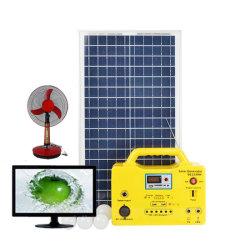 Eben Sonnenenergie-Generator-Solarhauptbeleuchtungssystem des Entwurfs-HauptsolarStromnetz-30W