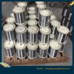 De roestvrij staal Gegalvaniseerde Draad van het Ijzer voor het Materiaal van het Schuursponsje