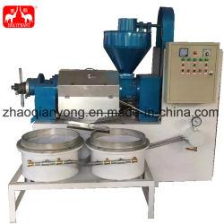 La Noix de Coco Vierge automatique Ricin Machine d'extraction à froid de l'huile de chanvre appuyez sur