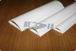 Blanco Flexible de Plástico PVC Electric Planta Cable Conducto