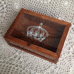 Boîte cadeau de thé en bois à l'emballage boîte cadeau